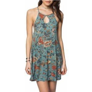 O'NEILL Devora Floral Ribbed Knit Fall Dress